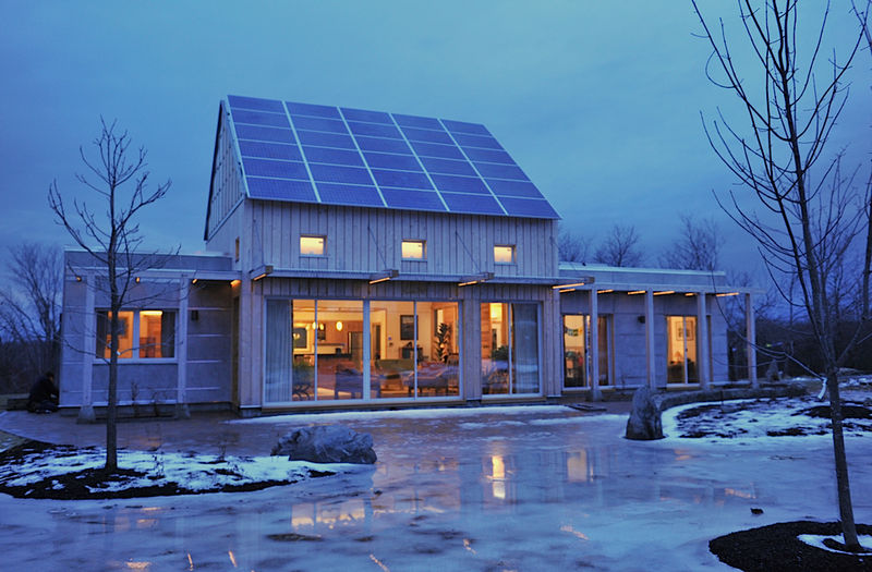Jetson green unity house takes leed platinum for Leed cabins