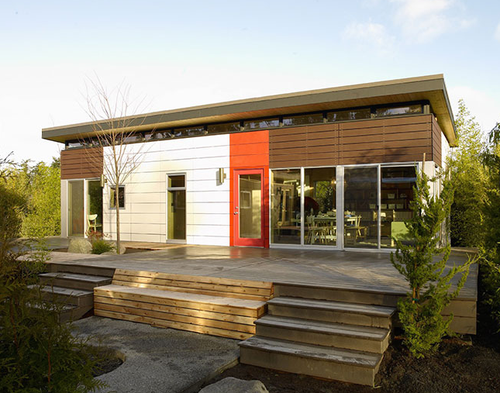 Jetson Green Port Townsend Modern Dwelling Shed