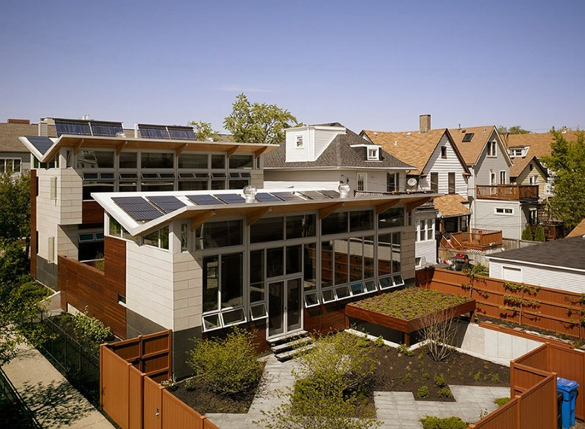 Jetson green platinum net zero energy yannell house for Zero energy homes