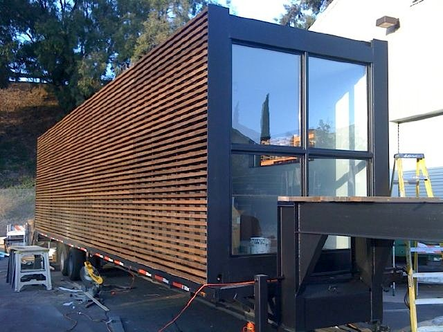 Container Home Siding : Jetson green iq haus prefab unveiled in los angeles